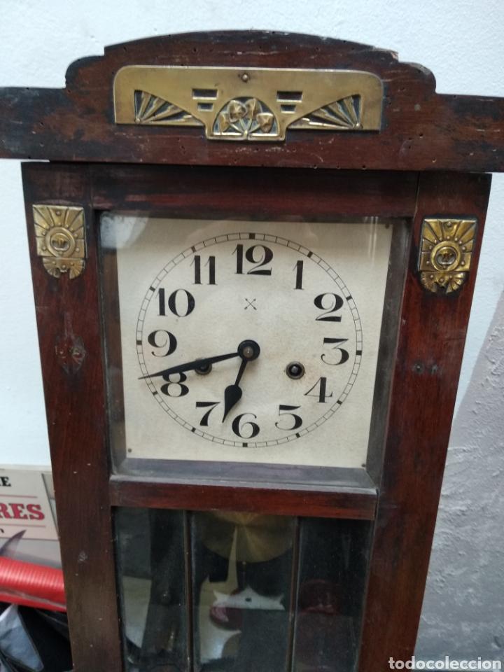RELOJ PARED ANTIGUO (Relojes - Pared Carga Manual)