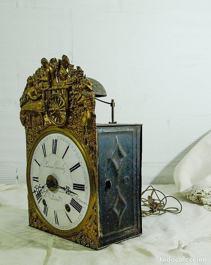 Relojes de pared: Reloj Morez - Patricio Gonzalez, Valladolid - Siglo XIX, - Foto 2 - 200805535