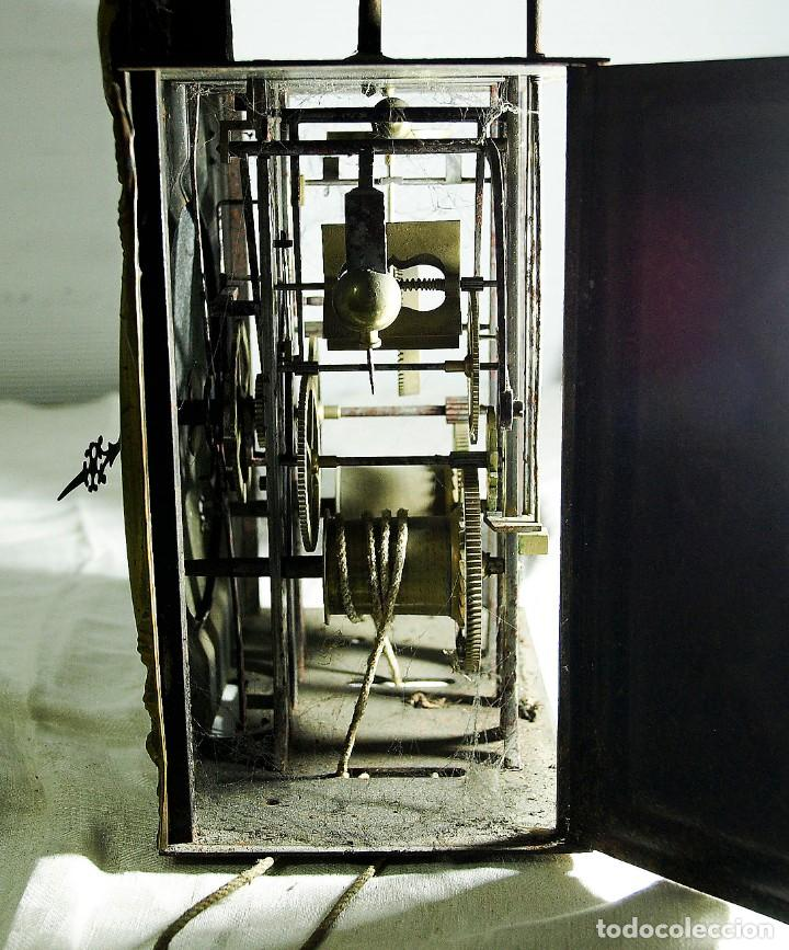 Relojes de pared: Reloj Morez - Patricio Gonzalez, Valladolid - Siglo XIX, - Foto 6 - 200805535