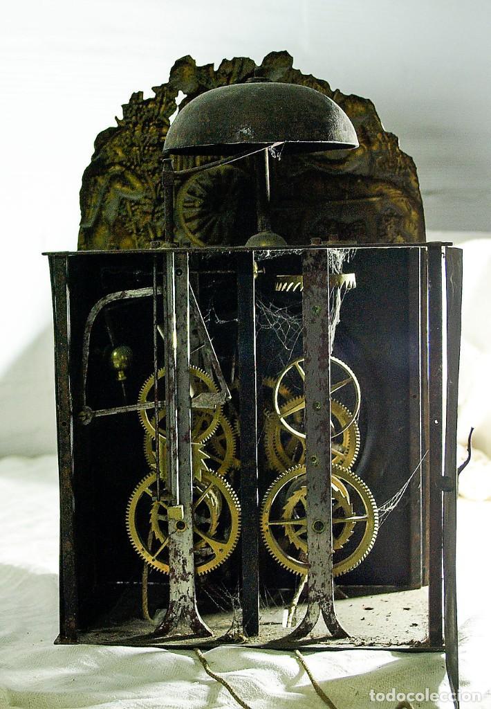 Relojes de pared: Reloj Morez - Patricio Gonzalez, Valladolid - Siglo XIX, - Foto 7 - 200805535