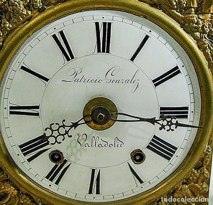 Relojes de pared: Reloj Morez - Patricio Gonzalez, Valladolid - Siglo XIX, - Foto 10 - 200805535