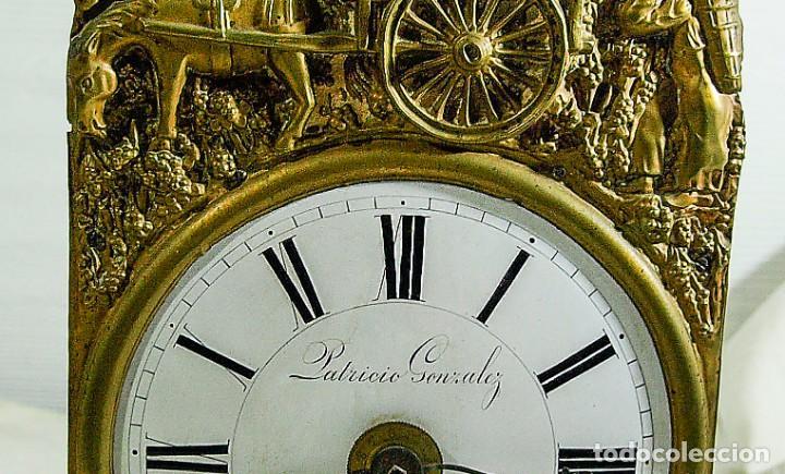 Relojes de pared: Reloj Morez - Patricio Gonzalez, Valladolid - Siglo XIX, - Foto 12 - 200805535