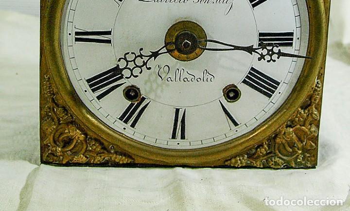 Relojes de pared: Reloj Morez - Patricio Gonzalez, Valladolid - Siglo XIX, - Foto 13 - 200805535