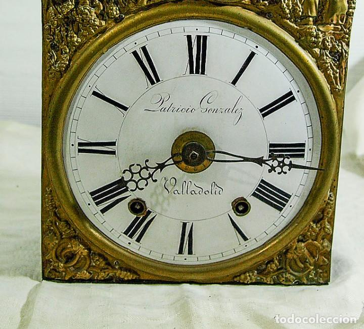 Relojes de pared: Reloj Morez - Patricio Gonzalez, Valladolid - Siglo XIX, - Foto 14 - 200805535
