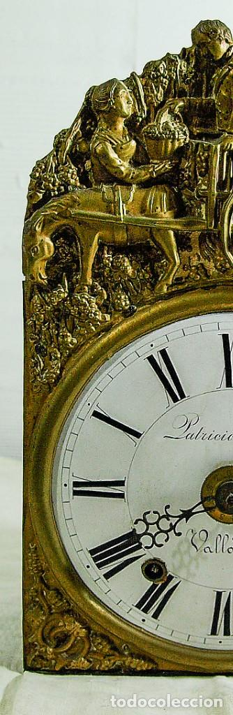 Relojes de pared: Reloj Morez - Patricio Gonzalez, Valladolid - Siglo XIX, - Foto 15 - 200805535