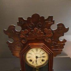 Relojes de pared: RELOJ AMARICANO S.XIX. Lote 201323938