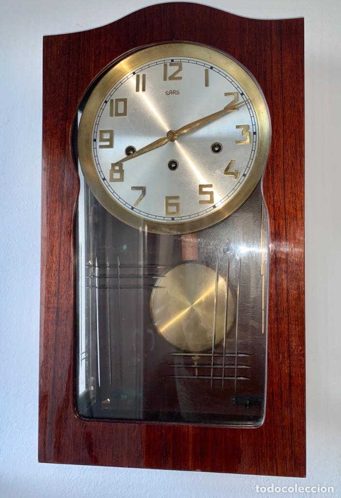 Relojes de pared: RELOJ AÑOS 50 , PERFECTO ESTADO CAJA Y MAQUINARIA MANUAL VINTAGE - Foto 2 - 191687891