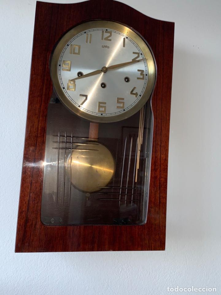 Relojes de pared: RELOJ AÑOS 50 , PERFECTO ESTADO CAJA Y MAQUINARIA MANUAL VINTAGE - Foto 3 - 191687891