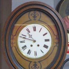 Relojes de pared: ANTIGUO RELOJ DE OJO DE BUEY. 1892. FUNCIONA. Lote 201982073