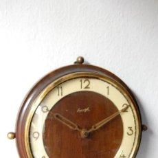 Relojes de pared: RELOJ DE PARED MARCA KIENZLE(ALEMANIA) ART-DECÓ ORIGINAL DECADA AÑOS 40 - FUNCIONANDO.. Lote 41618937