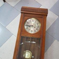 Relojes de pared: ANTIGUO RELOJ DE PARED MODERNISTA SONORA U M . Lote 202309875