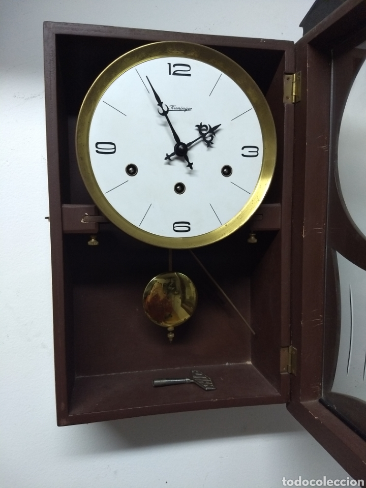 Relojes de pared: Reloj de pared marca kieninger - Foto 9 - 202613177