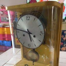 Relojes de pared: ANTIGUO RELOJ DE PARED FABRICADO EN ESPAÑA. Lote 203434540