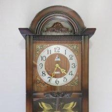 Orologi da parete: PRECIOSO RELOJ DE PARED CARGA MANUAL LAVA 31 DAY. MADE IN KOREA.. Lote 203733621