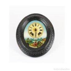 Relojes de pared: RELOJ TIPO OJO DE BUEY, FRANCIA, S. XIX.. Lote 204140077