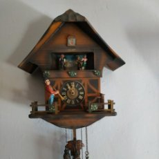 Relojes de pared: RELOJ ANTIGUO DE CUCU CUCO. Lote 204245398