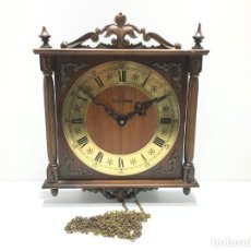 Orologi da parete: RELOJ DE PARED A CUERDA MARCA DUGENA. Lote 204772232