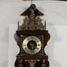 Orologi da parete: ESTUPENDO RELOJ HOLANDES CON CADENAS. Lote 204851115