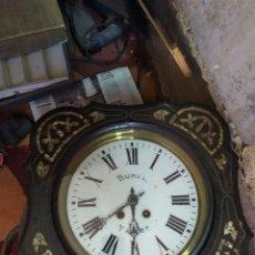 Orologi da parete: ANTIGUO RELOJ OJO DE BUEY CON NÁCAR SIGLO XIX. Lote 205175071