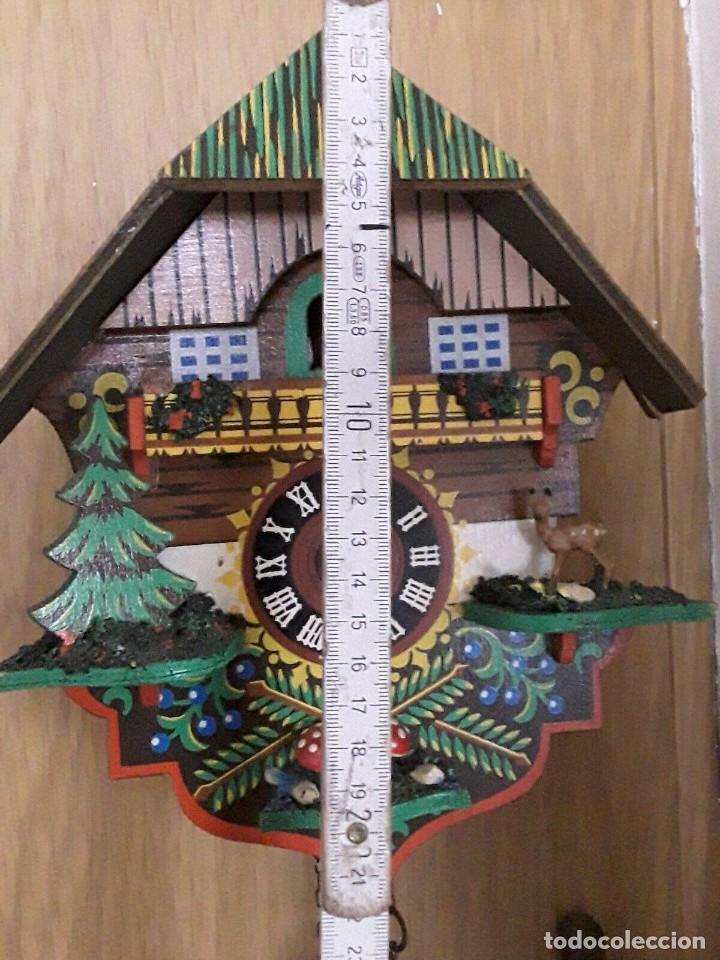 Relojes de pared: ANTIGUO RELOJ CUCO SELVA NEGRA - Foto 5 - 205196306