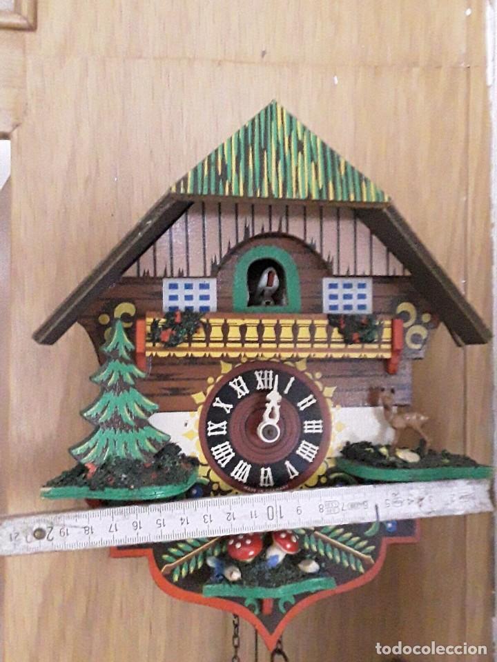 Relojes de pared: ANTIGUO RELOJ CUCO SELVA NEGRA - Foto 6 - 205196306
