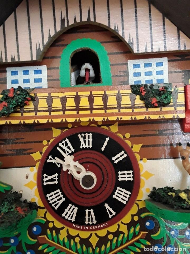 Relojes de pared: ANTIGUO RELOJ CUCO SELVA NEGRA - Foto 9 - 205196306