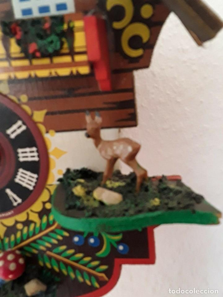 Relojes de pared: ANTIGUO RELOJ CUCO SELVA NEGRA - Foto 10 - 205196306
