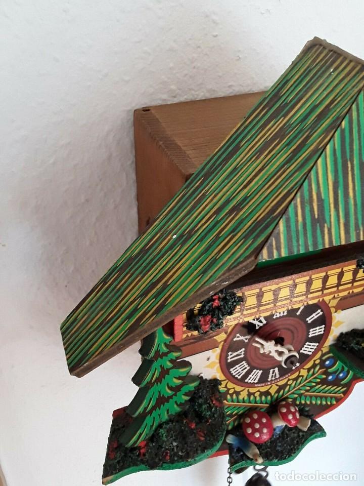 Relojes de pared: ANTIGUO RELOJ CUCO SELVA NEGRA - Foto 11 - 205196306