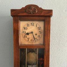 Relojes de pared: RELOJ FUNCIONANDO PERFECTAMENTE. Lote 205545700