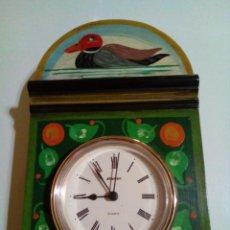 Relojes de pared: RELOJ ALEMAN DE PARED MARCA STAIGER. Lote 205654296