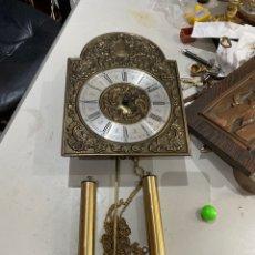 Relojes de pared: RELOJ DE PARED MARCA DIEHL,CUERDA 7-8 DIAS.COMPLETO. Lote 205719947