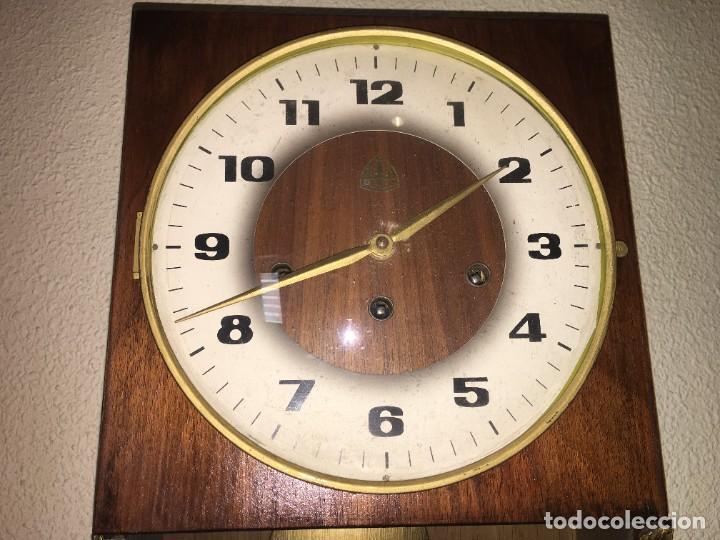 Relojes de pared: RELOJ DE PARED CARRILLON FHS ALEMANIA - Foto 2 - 206937290