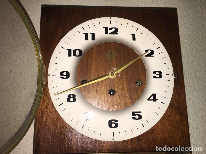 Relojes de pared: RELOJ DE PARED CARRILLON FHS ALEMANIA - Foto 3 - 206937290