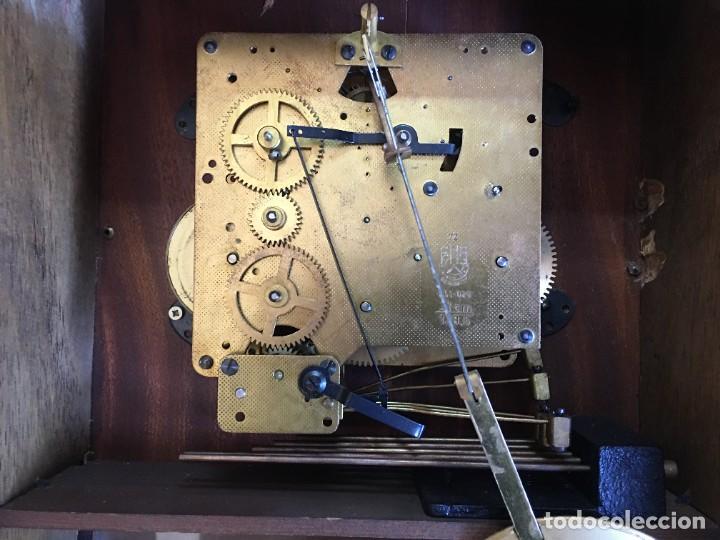 Relojes de pared: RELOJ DE PARED CARRILLON FHS ALEMANIA - Foto 4 - 206937290