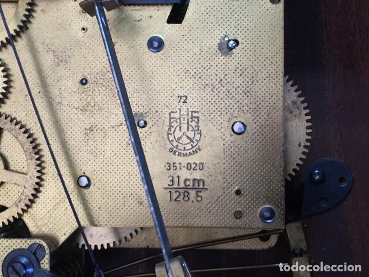 Relojes de pared: RELOJ DE PARED CARRILLON FHS ALEMANIA - Foto 5 - 206937290