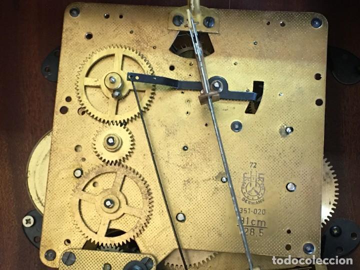 Relojes de pared: RELOJ DE PARED CARRILLON FHS ALEMANIA - Foto 6 - 206937290