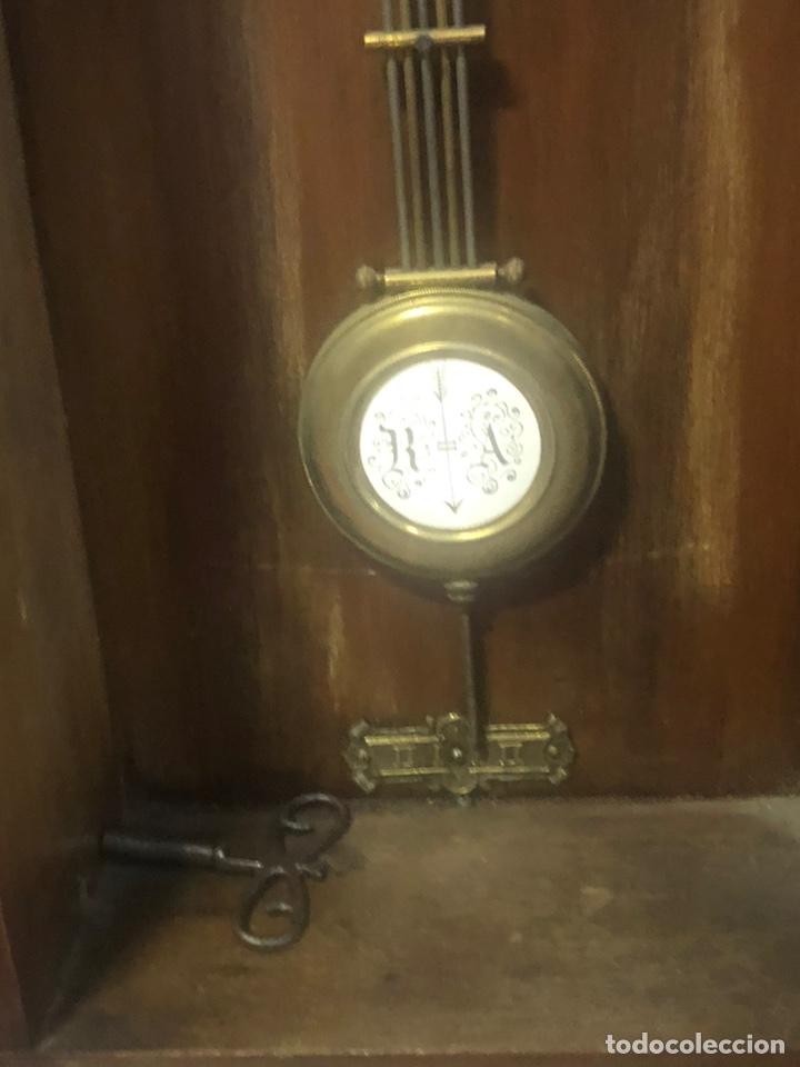 Relojes de pared: Reloj de Pared siglo XIX. - Foto 5 - 206938218