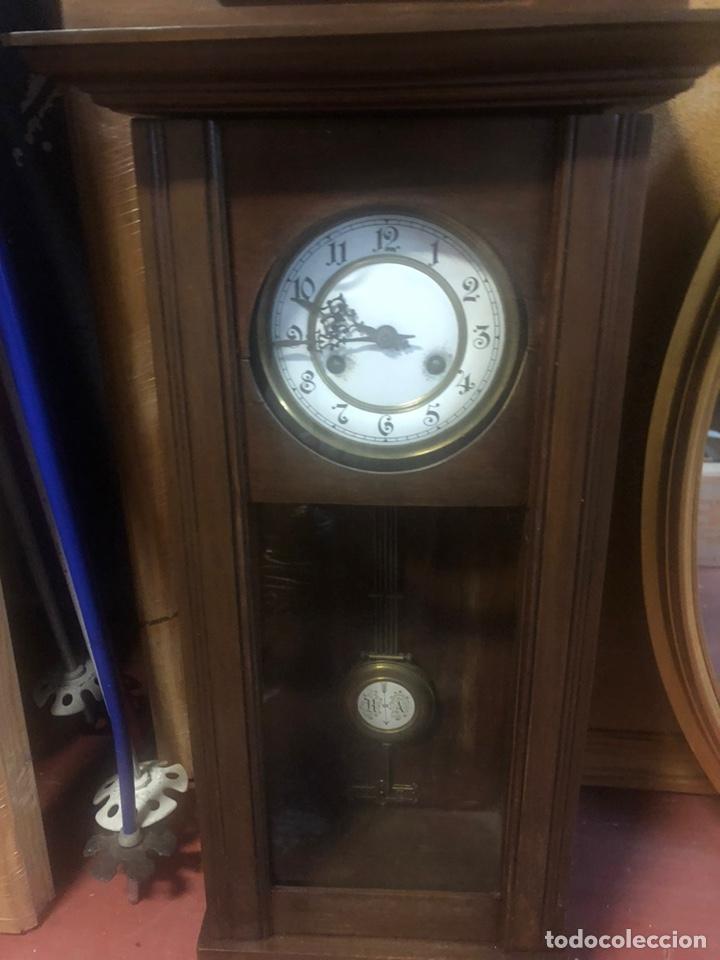 Relojes de pared: Reloj de Pared siglo XIX. - Foto 7 - 206938218
