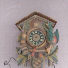 Relojes de pared: ANTIGUO CUCO DE MADERA SELVA NEGRA DE ALEMANIA- LOTE 272. Lote 207136371