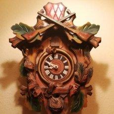 Relojes de pared: RELOJ CUCU-CUCO DE CUERDA .MECÁNICO.. Lote 207142310
