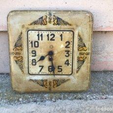 Relojes de pared: ANTIGUO MAQUINARÍA RELOJ DE PARED. Lote 207235381