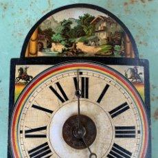 Relojes de pared: ANTIGUO RELOJ DE RATERA . SELVA NEGRA . CON PESAS Y PENDULO .. Lote 207423601