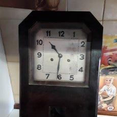 Relojes de pared: RELOJ DE PARED ANTIGUO 50X28CM. Lote 207699586