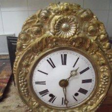 Relojes de pared: ¡¡GRAN OFERTA!! ANTIGUA MAQUINARIA MOREZ DE PESAS- FUNCIONAL- FUNCION DESPERTADOR- AÑO 1880. Lote 209320425