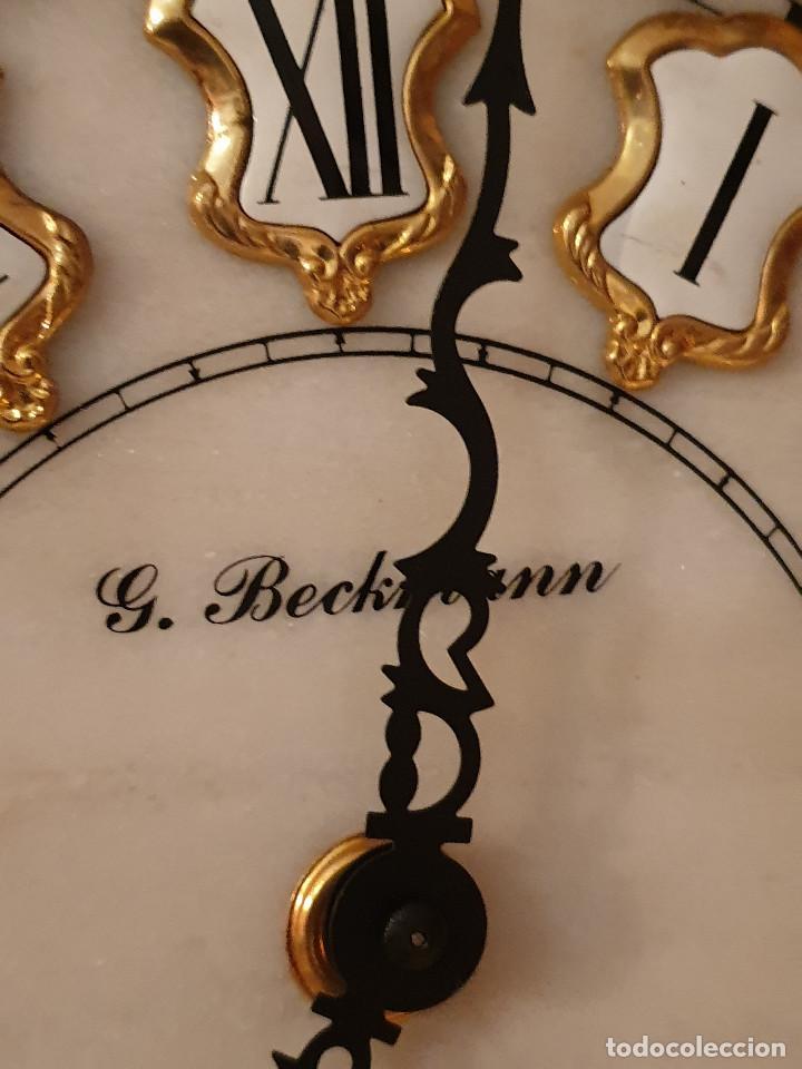 Relojes de pared: MAGNIFICO RELOJ DE PIE PENDULO CON VITRINA - Foto 20 - 209630055