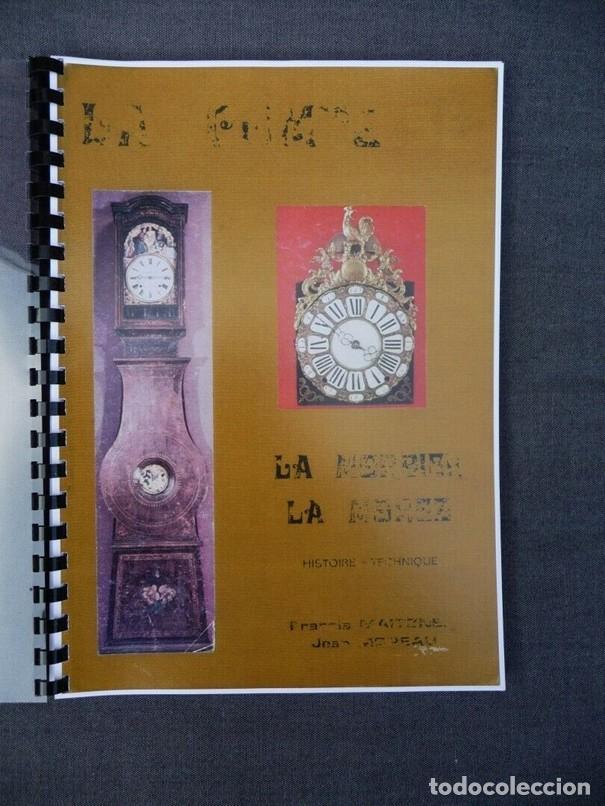 Relojes de pared: Una copia del libro Comtoise marca el Morbier el Morez por Francis Maitzner y Jean Moreau - Foto 2 - 209648203