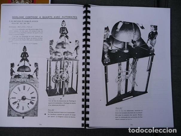 Relojes de pared: Una copia del libro Comtoise marca el Morbier el Morez por Francis Maitzner y Jean Moreau - Foto 5 - 209648203