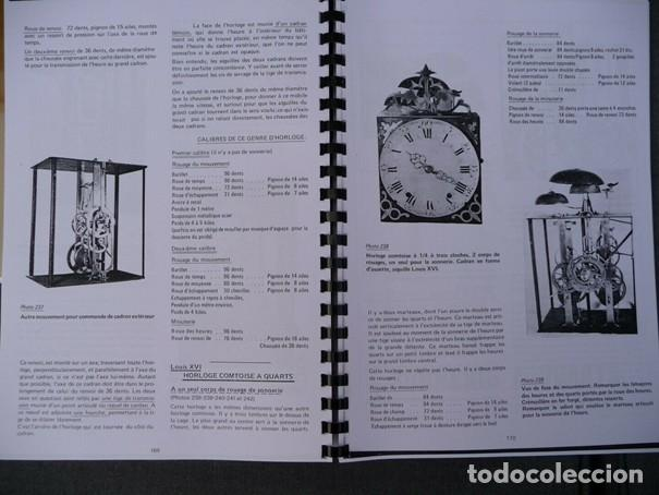 Relojes de pared: Una copia del libro Comtoise marca el Morbier el Morez por Francis Maitzner y Jean Moreau - Foto 6 - 209648203