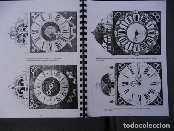 Relojes de pared: Una copia del libro Comtoise marca el Morbier el Morez por Francis Maitzner y Jean Moreau - Foto 8 - 209648203