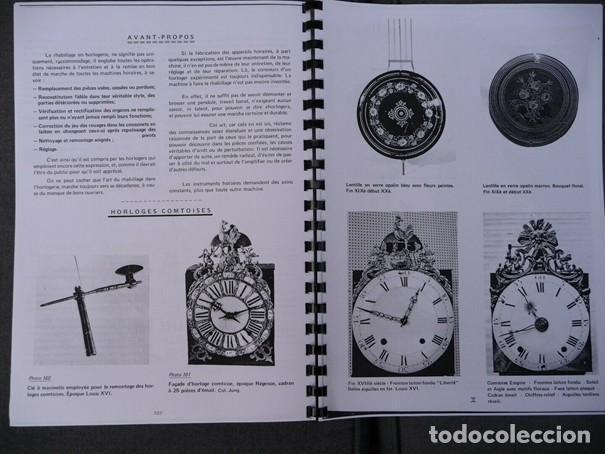 Relojes de pared: Una copia del libro Comtoise marca el Morbier el Morez por Francis Maitzner y Jean Moreau - Foto 10 - 209648203